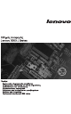 Lenovo J SERIES 3000 User Manual