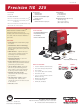 Lincoln Electric PRECISION TIG 225 Specification Sheet