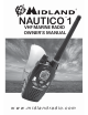 Midland NAUTICO 1 NT1 SERIES Owner's Manual