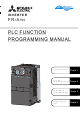 Mitsubishi Electric 700 Series Programming Manual
