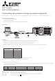 Mitsubishi Electric XD211U Information Sheet