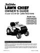 True Value Lawn Chief 13AE450F022 Owner's Manual