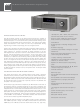 NAD Masters Series M3 Specification Sheet