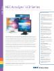 NEC NEC AccuSync LCD52V Brochure