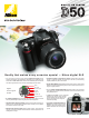 Nikon D50 User Manual