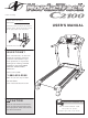 NordicTrack C2100 NTL1075.1 User Manual