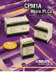 Omron Micro Programmable Controllers CPM1A Brochure & Specs