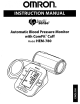 Omron INTELLI-SENSE HEM-780 User Manual