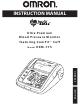 Omron HEM-775 Instruction Manual