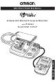 Omron INTELLISENSE HEM-705CP Instruction Manual