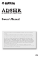 Yamaha AD8HR Owner's Manual