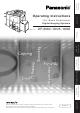 Panasonic DP-8060 Operating Instructions Manual