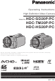 Panasonic HDC-HS20P Operating Instructions Manual