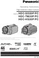 Panasonic HDC-HS20P Operating Instructions Manual