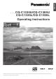 Panasonic C1305L Operating Instructions Manual
