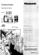 Panasonic SC-PM17 Operating Instructions Manual