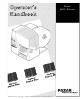 Paxar 9855 Operator's Manual
