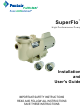 Pentair Pool Products Superflo Installation And User