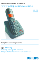 Philips SE155 User Manual