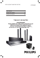 Philips HTS3548W/55 User Manual