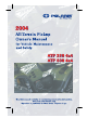 Polaris ATP 330 4x4 Owner's Manual