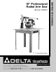 Delta RS830 Instruction Manual
