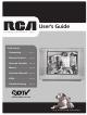 RCA 20F524T User Manual