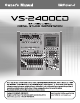 Roland VS-2400CD Owner's Manual