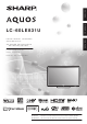 Sharp AQUOS LC-60LE831U Operation Manual