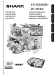 Sharp XV-Z20000 Operation Manual
