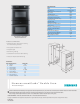 Siemens AVANTGARDE SKU HB30D50U Features And Benefits