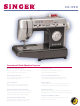 Singer CG-590 Product Sheet