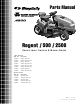 Simplicity 2500 Series Parts Manual