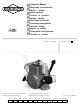 Briggs & Stratton 90000 Operator's Manual