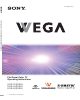 Sony WEGA KDE-50XS955, KDE-37XS955, KDE-42XS955 Operating Instructions Manual