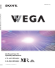 Sony WEGA KE 42XBR900 Operating Instructions Manual