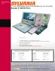 Sylvania SDVD7014 Specification Sheet