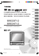Toshiba MW24F12 Owner's Manual