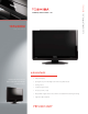 Toshiba 19AV600U Specification Sheet