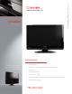 Toshiba 19AV600U Specification Sheet