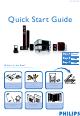 Philips MCD759D/37B Quick Start Manual