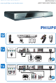 Philips BDP7500B2/05 Quick Start Manual