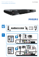 Philips DVP3580/05 Quick Start Manual