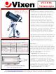 Vixen VC200L Specifications