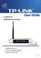 TP-Link TL-WR641G User Manual