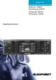 Blaupunkt DENVER Denver CD70 Operating Instructions Manual