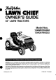 True Value Lawn Chief 13AG678G022 Owner's Manual
