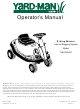 Yard-Man 13B-325-401 Operator's Manual