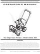 MTD 3AA Operator's Manual