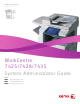Xerox WORKCENTRE 7428 System Administrator Manual